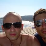 Frank (identico a Davydenko) e Me (Marco )